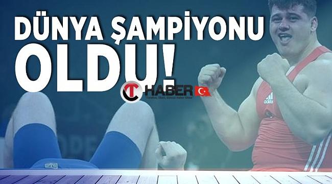 Milli Güreşçimiz Dünya Şampiyonu Oldu