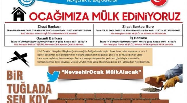 Ülkü Ocakları Nevşehir İl Başkanlığı Twitter Çalışmasıyla Geniş Kitlelere Ulaştı