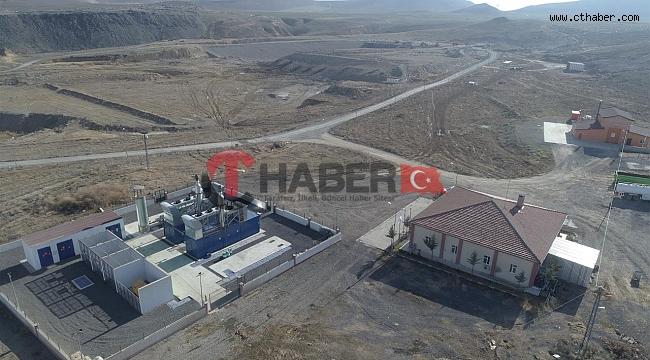 Nevşehir'de Çöpden Her Ay 1035 Mw Elektrik Üretiliyor