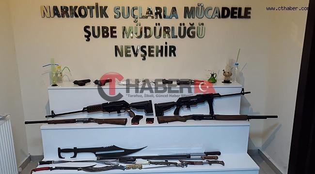 Nevşehir'de 7 Uyuşturucu Taciri Tutuklandı