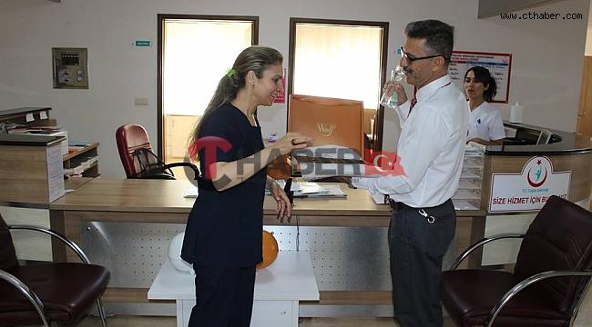 Nevşehir Türk Sağlık-Sen, Sağlık Çalışanlarının Bayramını Kutladı