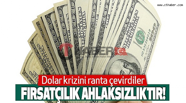 Stokçular Türkiye'de Dolar Krizini Ranta Çevirdiler