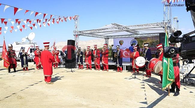 47. Ürgüp Uluslararası Bağ Bozumu Festivaline Yapıldı