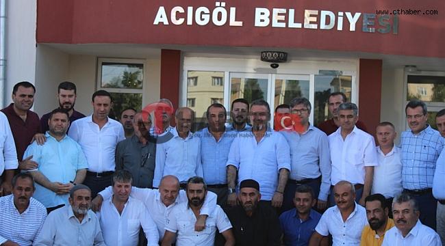 Esenyurt Belediye Başkanı Alatepe, Başkan Ertaş'a Ziyaret