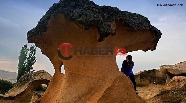 Gülşehir'de Mantarkaya Var Turist Yok