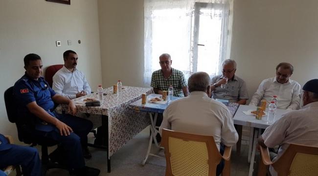 Gülşehir Kaymakamı Tekin, Köy Ziyaretlerine Devam Ediyor