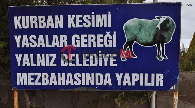Hacıbektaş'ta Kaçak Kurban Satış ve Kesim Yapanlara Dikkat