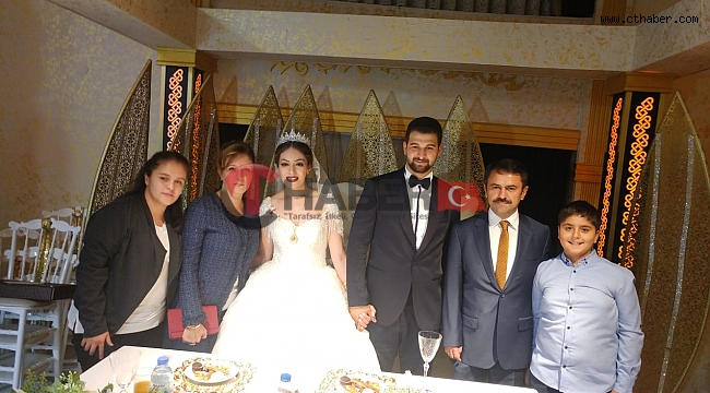 Nevşehir'de Polis Memuru Olan Sultan ve Ali Evlendi