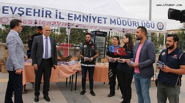 Nevşehir Emniyet Müdürü Artunay, NEVÜ Öğrencileriyle Buluştu