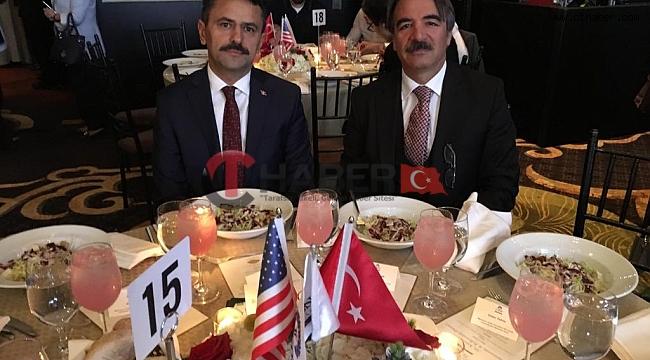 NEVÜ Rektörü Bağlı ve Nevşehir Valisi Aktaş ABD'de
