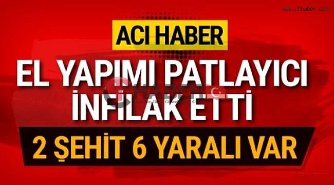 Silopi'de Hain Tuzak, 2 Asker Şehit Oldu