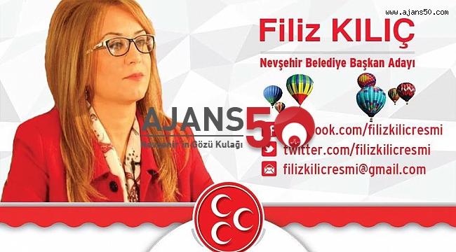 MHP Nevşehir Belediye Başkan Adayı Filiz Kılıç