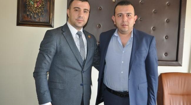 FEDERASYON BAŞKANINDAN BAŞKAN ERGİN'E ZİYARET
